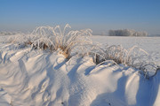 Winterlandschap ten